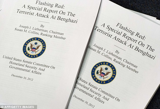 Senate Homeland Security Committee Flashing Red: A Special Report On The Terrorist Attack At Benghazi December 31, 2012