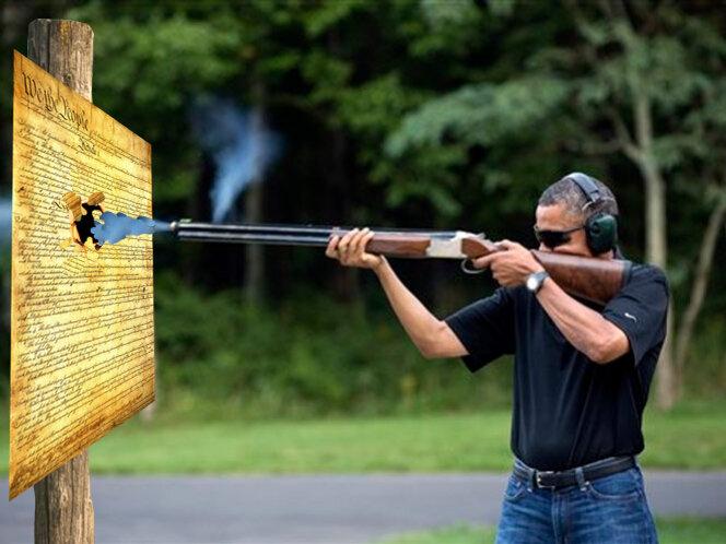 obama skeet constitution