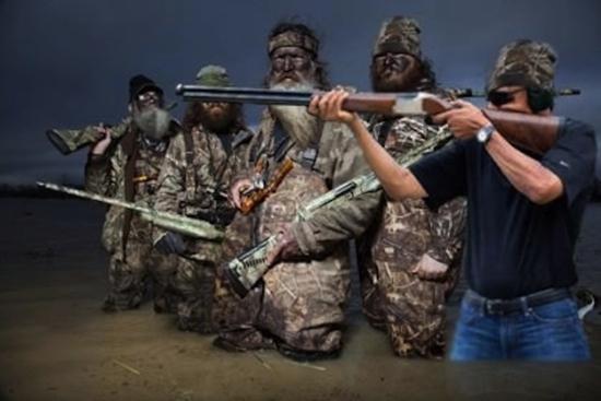 obama skeet shooting duck dynasty