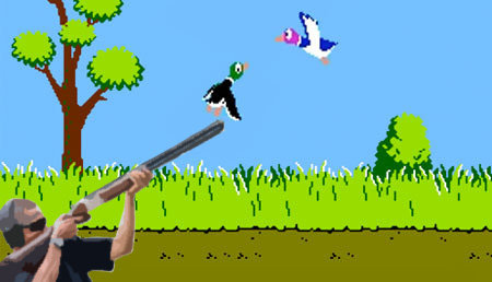 obama skeet duck hunt
