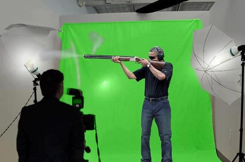 obama skeet green screen