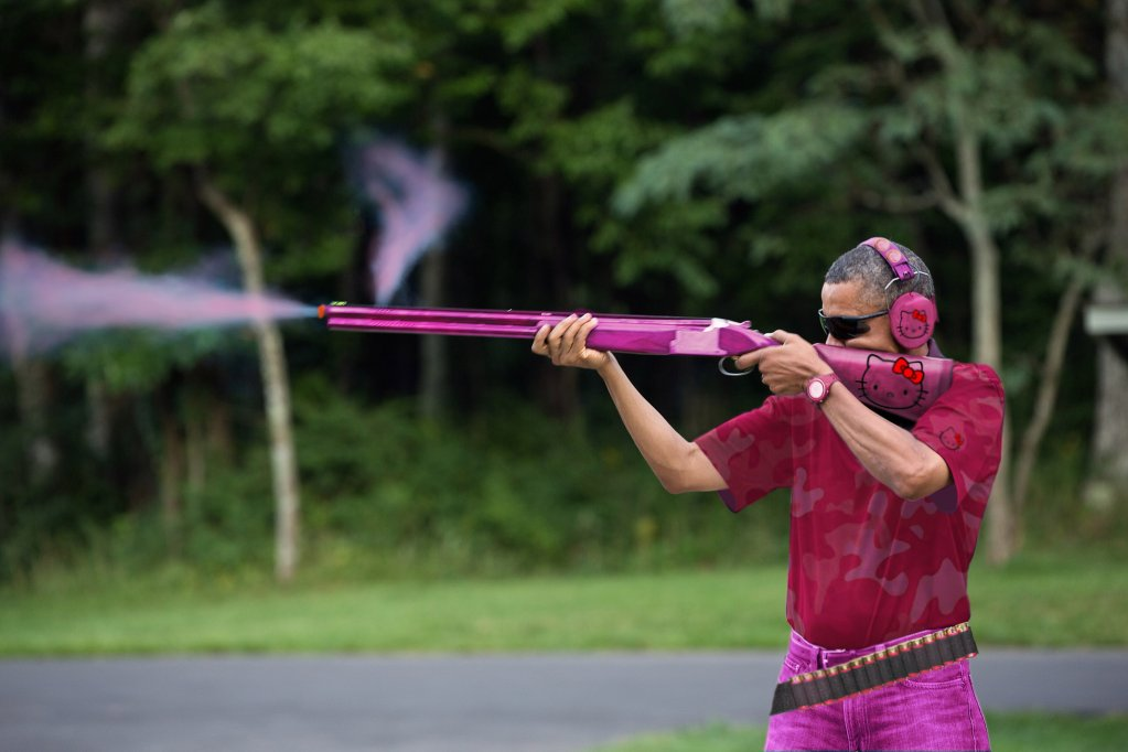 obama skeet hello kitty