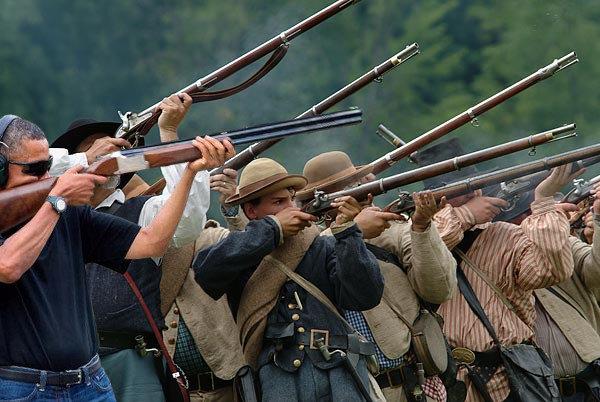 obama skeet muskets