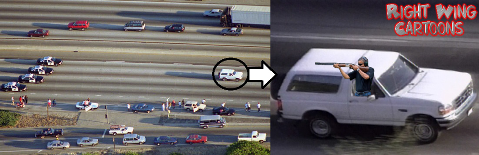 obama skeet oj simpson chase