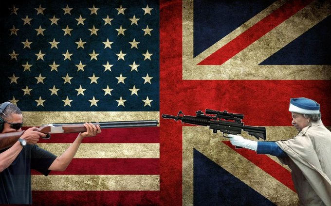 obama skeet queen elizabeth