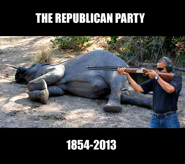 obama skeet republican party