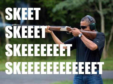 obama skeet skeet skeet