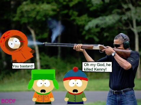 obama skeet south park