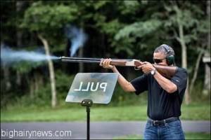 obama skeet teleprompter