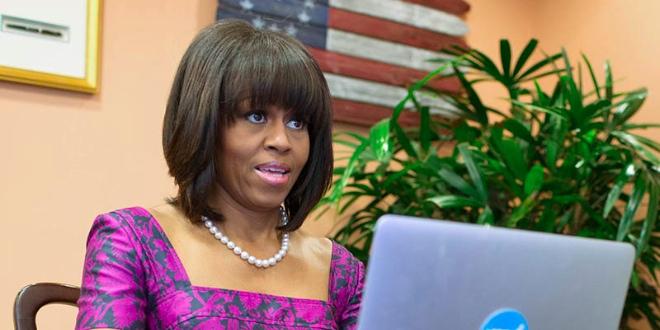 michelle obama twitter #AskFLOTUS
