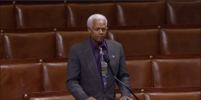 Hank Johnson Congressman Guam Balloons Midgets Speech House of Representatives