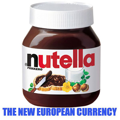 Nutella the new European currency