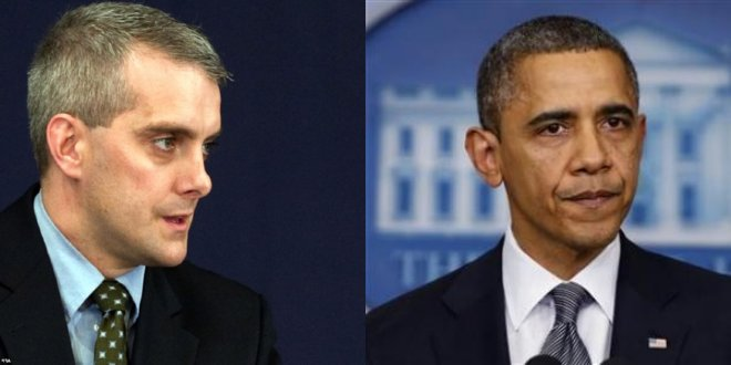 Denis McDonough and President Barack Obama