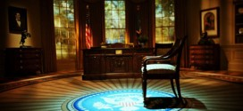 Oval Office Empty Chair