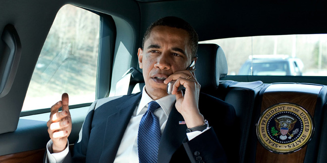 President Obama Gets The Latest Info On The Crisis In Egypt