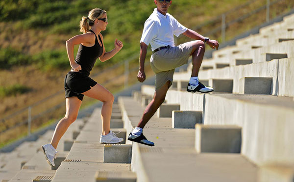 Obama Golf Photoshop President Stair Climbing Exercises Martha's Vineyard