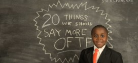 Kid President 20 Things We Should Say More Often YouTube SoulPancake Soul Pancake Happy Thanksgiving Day turkey corndog young Obama barbecue sauce shirt i don't know thank you something nice let's dance