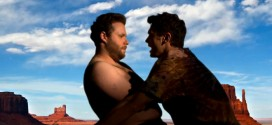 "Seth Rogen and James Franco Make Hilarious Kanye West Parody called ""Bound 3"" Kim Kardashian lampoon ""Bound 2"" music video shot-for-shot remake film satire funny comedy awesome cool fun spoof watch recreate star in replaced by snuggle homoerotic gay odd strange weird quirky hug straddle mount motorcycle shirtless hairy back hair kiss"