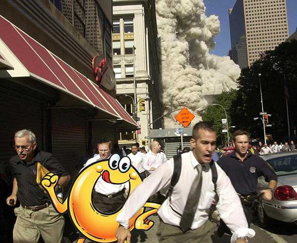 Spaghettios Pearl Harbor Tweet 9/11 Terrorist Attacks attack NYC street streets people panic running smoke explosion building collapse December 7, 2013 Twitter tweet Campbell Soup Company Campbell's offensive tasteless dubious bad taste poor public outcry people upset furious enraged outrage apologizes apology pulls brand Internet