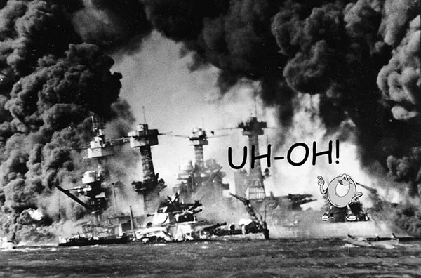 Spaghettios Pearl Harbor Tweet Battleships Destroyed uh-oh explosion sinking sunk sink December 7, 2013 Twitter tweet Campbell Soup Company Campbell's offensive tasteless dubious bad taste poor public outcry people upset furious enraged outrage apologizes apology pulls brand Internet