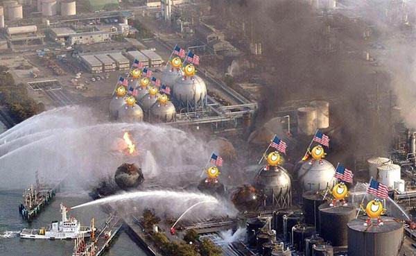 Spaghettios Pearl Harbor Tweet Fukushima Nuclear Reactors japan tsunami TEPCO meltdown core fuel rods water overheating explosion putting out fire spraying water extinguish extinguishing December 7, 2013 Twitter tweet Campbell Soup Company Campbell's offensive tasteless dubious bad taste poor public outcry people upset furious enraged outrage apologizes apology pulls brand Internet