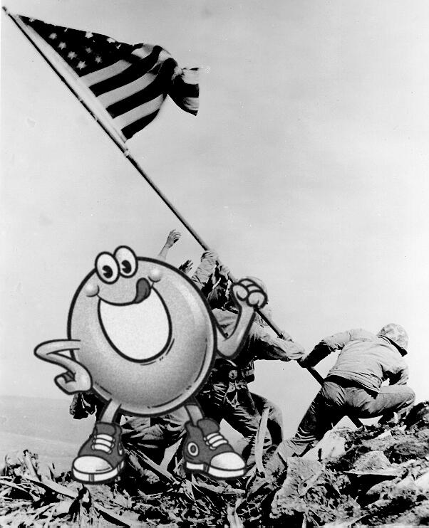 Spaghettios Pearl Harbor Tweet Raising Flag at Iwo Jima December 7, 2013 Twitter tweet Campbell Soup Company Campbell's offensive tasteless dubious bad taste poor public outcry people upset furious enraged outrage apologizes apology pulls brand Internet