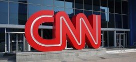CNN Headquarters Outside building giant letters logo big huge red entrance Atlanta, GA Georgia Ted Turner Hack Hacked social media Twitter Facebook website websites accounts security breach unauthorizedaccess