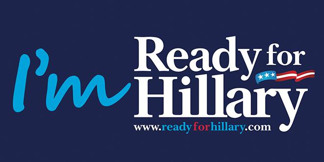 Im ready for hillary 2016 bumper sticker