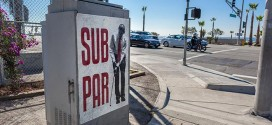 Obama 'Sub Par' Posters Spotted Near PGA Tourney Tournament Take Swing at President Pacific Palisades, CA California Santa Monica Los Angeles 2014 Northern Trust Open rightwing art artwork sabo guerilla political speech protest conservative free speech freedom