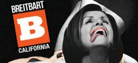 Breitbart California posters poster Nancy Pelosi twerking Miley Cyrus tongue hanging out of her mouth Sabo Photoshop Photoshopped Photoshopping Photoshops Photoshopper subversive provocative L.A. Los Angeles street art campaign guerrilla gross undignified foul offensive disrespectful tasteless signal box signal boxes lampposts lamp posts streets Unsavory Agents conservative liberal Democrat Democrats Republican Republicans DNC RNC political parties politics launch new division team wing rightwing right-wing right leftwing left-wing left leftist left-leaning Progressive Socialist
