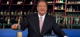 Ed Schultz Does Worst Beer Pour of All Time MSNBC Host The Ed Show April 25, 2014 craft brewing beer Florida State Senate law legislation Republican GOP conservative small business businesses hurt harm corporation distributors micro-beer customer limit consumers glass angle too much head bubbles top mug pint