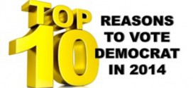Top 10 Reasons to Vote Democrat in 2014 Allen West political satire Top 10 List funny humorous parody allenbwest.com