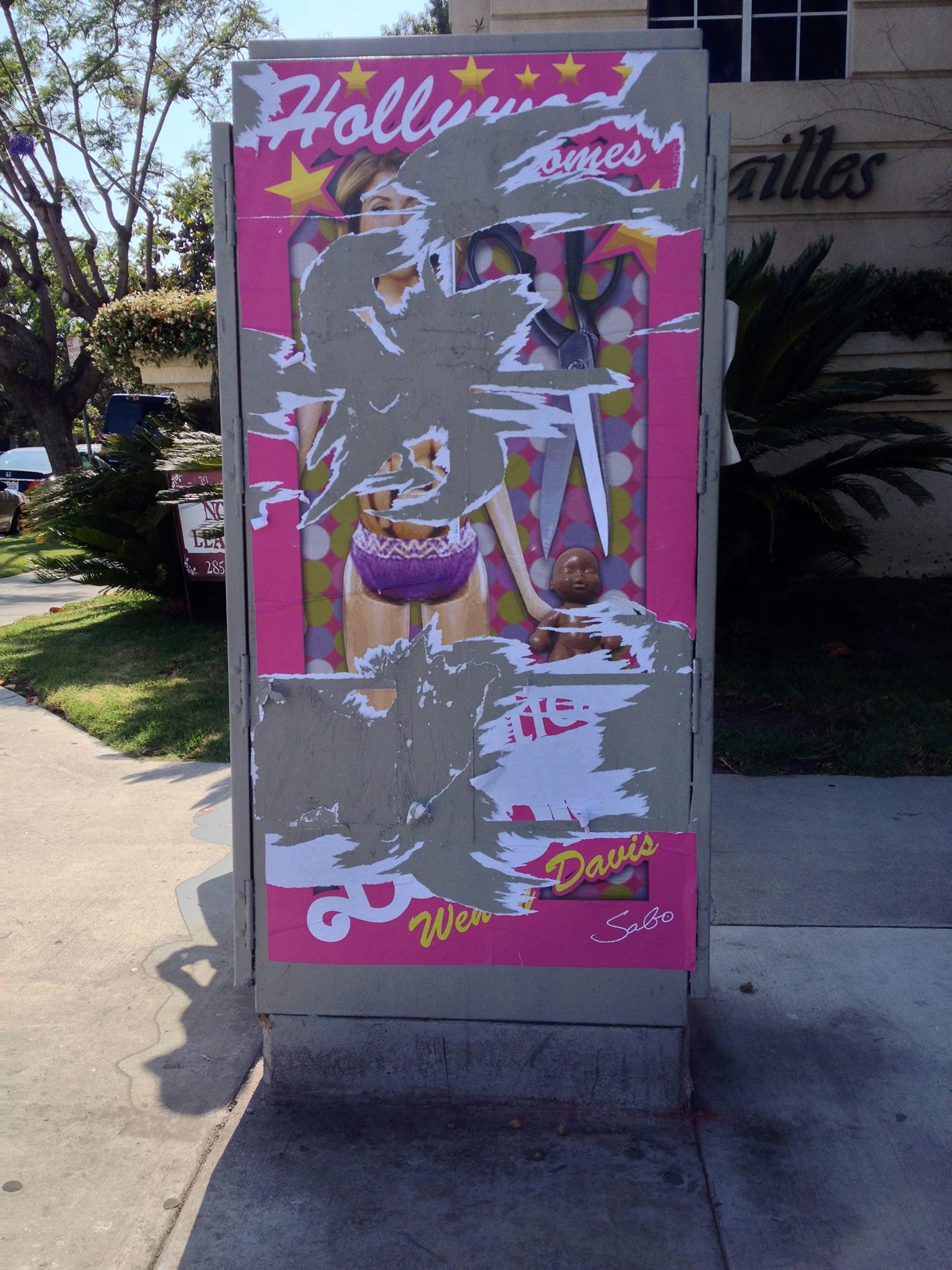 abortion barbie poster attack - HD1536×2048