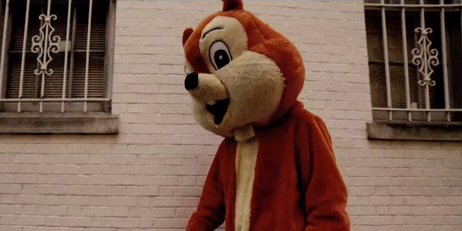 Campaign Tails RNC Video giant orange squirrel suit mascot GOP comeback triumph redemption Hillary Clinton book tour Hard Choices intern story past backstory documentary feature history