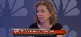 Debbie Wasserman Schultz DNC Chair Democratic National Committee fact-checked called out for wrong incorrect Obamacare fact live on the air Jon Ralston Reports Nevada Las Vegas Reno TV television news show interview ACA Affordable Care Act federal court rulings embarrassed embarrasses blunder gaffe embarrassing moment busted caught lying humiliated lie spews false information falsehood