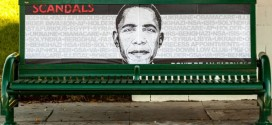 "Obama Scandals Posters Appear on L.A. Streets Amid Fundraiser ""Don't Be An #Asshole"" Los Angeles Shonda Rhimes political street art artist controversy controversial subversive bench benches signal box boxes Benghazi IRS Fast and Furious Bergdahl Obamacare Egypt Syria Libya Ukraine NSA ISIS VA Veterans Affairs Holder Recess Appointments Solyndra Illegal Border Invasion AP"