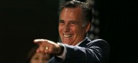 Mitt Romney Cracks Hilarious Joke At Obama's Expense Iowa Senate race campaign rally GOP Republican candidate Joni Ernst Sen. Rep. stump speech President opponent Bruce Braley West Des Moines, IA