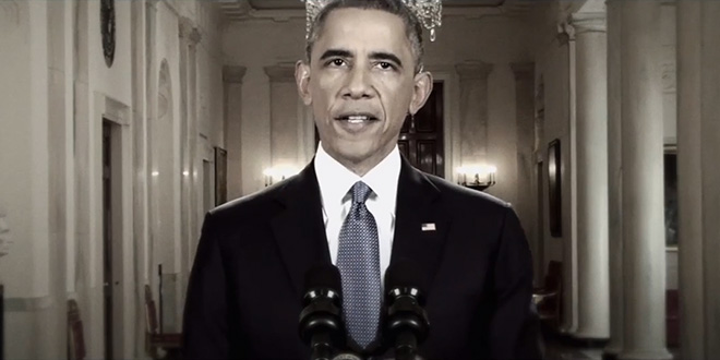 An Imperial Presidency new GOP RNC YouTube video President Obama Hillary Clinton executive overreach immigration reform amnesty illegal immigrants speech address slow motion creepy