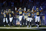 St. Louis Rams Hands Up, Don't Shoot solidarity Sunday NFL game Oakland Raiders Michael Brown Officer Darren Wilson Ferguson Missouri riots looting unrest protests police racism racist