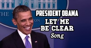 Let Me Be Clear President Obama SocialistMop YouTube Video Original Song Funny Comedy Satire Satirical Humorous Political Humor Parody Mock Mocking Lies Autotune Vocoder Editing Singing Sing Sung Performed by Obama