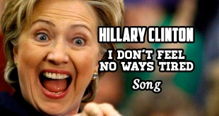 "Infowars.com Hillary Clinton Contest ""I Don't Feel No Ways Tired"" Make Fun of Hillary Clinton Original Song Hip-Hop Rap RnB Funny Comedy Satire Political Humor Humorous YouTube Video Hilarious Hysterical Parody Laugh Factory"