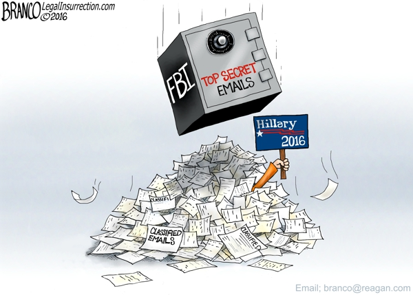 Hillary Clinton Email Scandal A.F. Branco Comically Incorrect