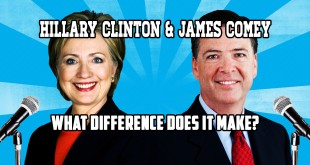 Hillary Clinton James Comey What Difference Does It Make? E-mail Scandal Funny Song YouTube Video FBI Director Secretary of State President candidate parody mock satire political humor hilarious